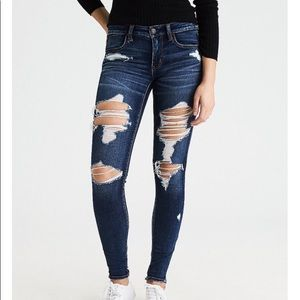 American Eagle   Hell Yeah   Destroyed Jeggings